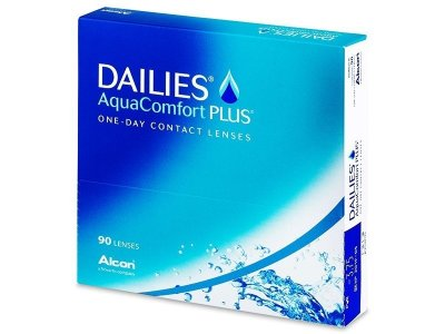 Dailies AquaComfort Plus (90 ks)