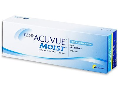 1 Day Acuvue Moist for Astigmatism (30 ks)