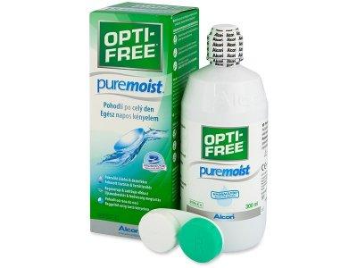 Roztok OPTI-FREE PureMoist 300 ml + PureMoist 60 ml ZDARMA